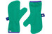 Finkid Nupukka Gloves Kids emerald/navy